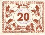 Austria, 20 Heller, FS 117a
