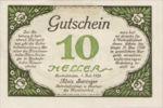 Austria, 10 Heller, FS 89a