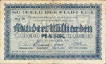 Germany, 100,000,000,000 Mark, 2614p