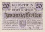 Austria, 20 Heller, FS 140Ib