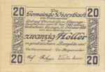 Austria, 20 Heller, FS 122a