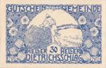Austria, 30 Heller, FS 124c