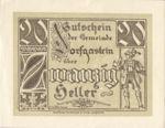 Austria, 20 Heller, FS 130