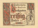 Austria, 30 Heller, FS 130