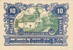 Austria, 10 Heller, FS 132c