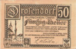 Austria, 50 Heller, FS 134a