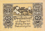 Austria, 10 Heller, FS 134ax