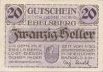 Austria, 20 Heller, FS 140Ia