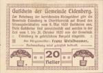 Austria, 20 Heller, FS 168Ia