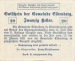 Austria, 20 Heller, FS 168IIb