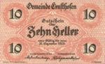 Austria, 10 Heller, FS 184a