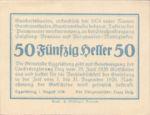 Austria, 50 Heller, FS 160Ia