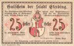 Austria, 25 Heller, FS 152I.3ahAx