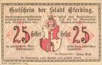 Austria, 25 Heller, FS 152I.3ahB