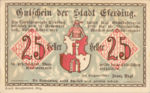 Austria, 25 Heller, FS 152I.3aiA