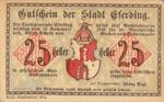 Austria, 25 Heller, FS 152I.3ajA