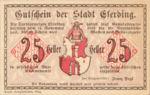 Austria, 25 Heller, FS 152I.3ahA