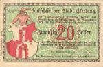 Austria, 20 Heller, FS 152I.2d