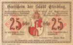 Austria, 25 Heller, FS 152I.3amB