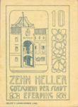 Austria, 10 Heller, FS 152IIAa1