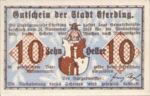 Austria, 10 Heller, FS 152IIIa
