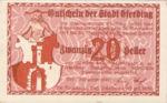 Austria, 20 Heller, FS 152IIIb