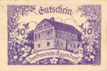 Austria, 10 Heller, FS 165d