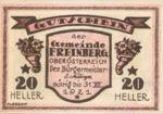 Austria, 20 Heller, FS 211IIa