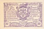 Austria, 20 Heller, FS 172a