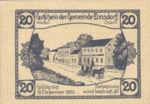 Austria, 20 Heller, FS 178a