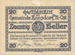 Austria, 20 Heller, FS 178b2