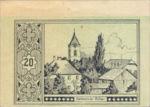 Austria, 20 Heller, FS 180dx