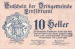 Austria, 10 Heller, FS 183a