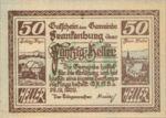 Austria, 50 Heller, FS 206IIb