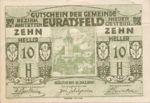 Austria, 10 Heller, FS 192b