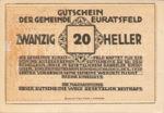 Austria, 20 Heller, FS 192a