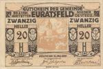 Austria, 20 Heller, FS 192b