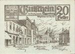 Austria, 20 Heller, FS 162a