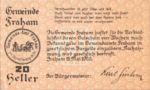 Austria, 20 Heller, FS 205b