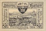 Austria, 20 Heller, FS 206IIb