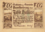 Austria, 10 Heller, FS 206IIb