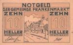Austria, 10 Heller, FS 209d