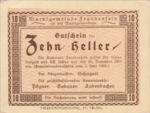 Austria, 10 Heller, FS 208a