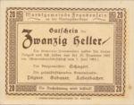 Austria, 20 Heller, FS 208b