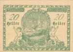 Austria, 20 Heller, FS 211Ia