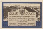 Austria, 99 Heller, FS 200Ib