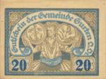Austria, 20 Heller, FS 312A