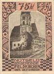 Austria, 75 Heller, FS 196a