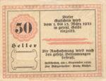 Austria, 50 Heller, FS 196a
