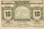 Austria, 10 Heller, FS 198a